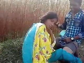 Indian Desi lovers have outdoor sex in the jungle indian fucking indians