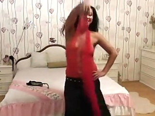 My sexy belly-dance video indian straight webcam